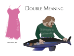 Double Meaning Assignment