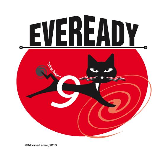 New version of old Eveready logo – Alonna Farrar