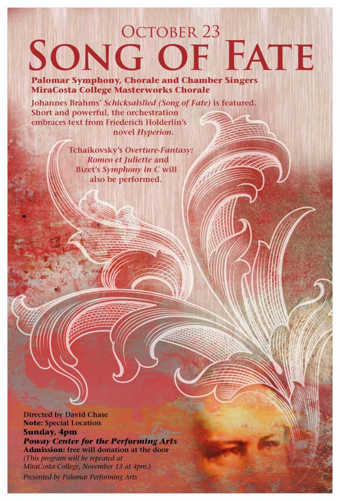 Palomar College Performing arts poster